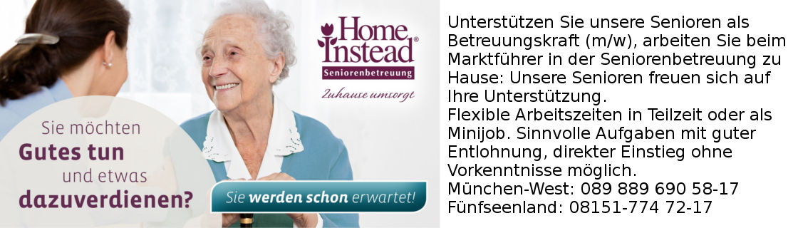 Home Instead München West Jobs